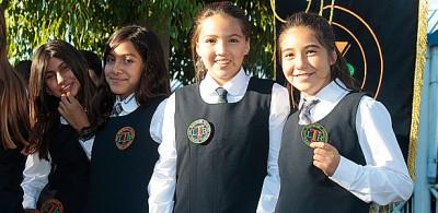 Entrega de insignias para nuestros nuevos alumnos