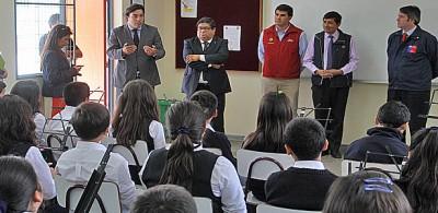 """Seremi de Educación sobre LBT """"Está en vías de convertirse en uno de los mejores de Chile"""""""